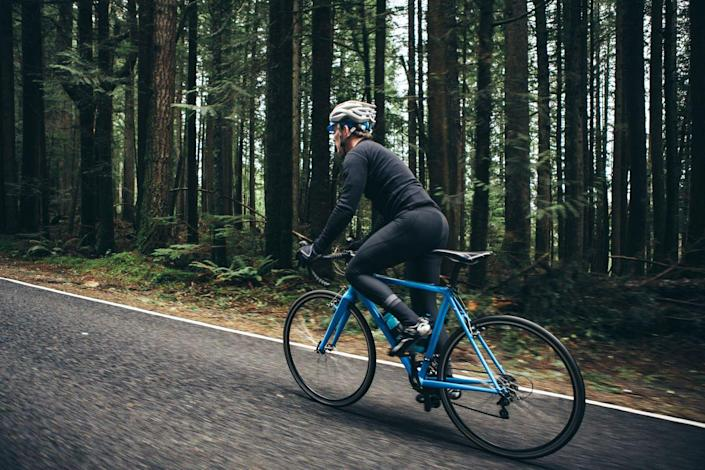 """<p>The number one way cyclists hurt their knees is suddenly riding longer, faster, and/or harder than they have been. Your connective tissues are not conditioned to bear the load you're putting on them, and your joints get inflamed and pipe up. The solution: <a href=""""http://www.bicycling.com/training/fitness/100-mile-goal"""" rel=""""nofollow noopener"""" target=""""_blank"""" data-ylk=""""slk:Increase your riding mileage"""" class=""""link rapid-noclick-resp"""">Increase your riding mileage</a> or time progressively, by 20 to 25 percent each week (to a point of course; there are only so many hours).</p><p>""""Where you need to be most careful is not so much ramping up over a week, but on an individual ride,"""" says Hunter Allen, founder of the Peaks Coaching Group and co-author of <em>Training & Racing with a Power Meter</em>. """"If your longest long ride is 40 miles, don't go 80 next week. Instead go 50, then 60 the next week, then 75, maybe 80."""" Be similarly prudent when adding intervals, sprints, and hills. Don't go from nothing to <a href=""""https://www.bicycling.com/training/a20006985/climbing-tips/"""" rel=""""nofollow noopener"""" target=""""_blank"""" data-ylk=""""slk:hill repeats"""" class=""""link rapid-noclick-resp"""">hill repeats</a> and three sets of Tabatas. And always give yourself a proper warm-up, so your muscles and connective tissues are warm and your synovial fluids (your joints' natural lubrication) are flowing before you toss down the hammer.</p>"""
