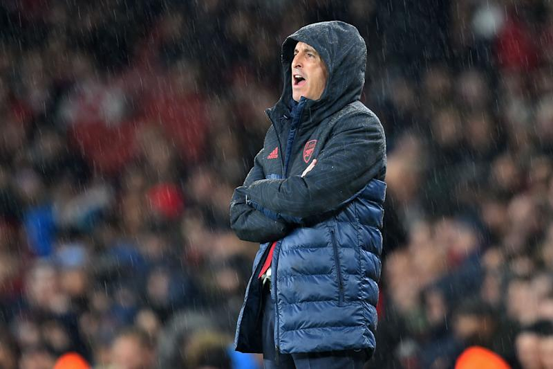 Unai Emery has turned Arsenal into a bruising, unimaginative outfit. Which is not what fans are used to after over two decades of Arsene Wenger. (Getty)