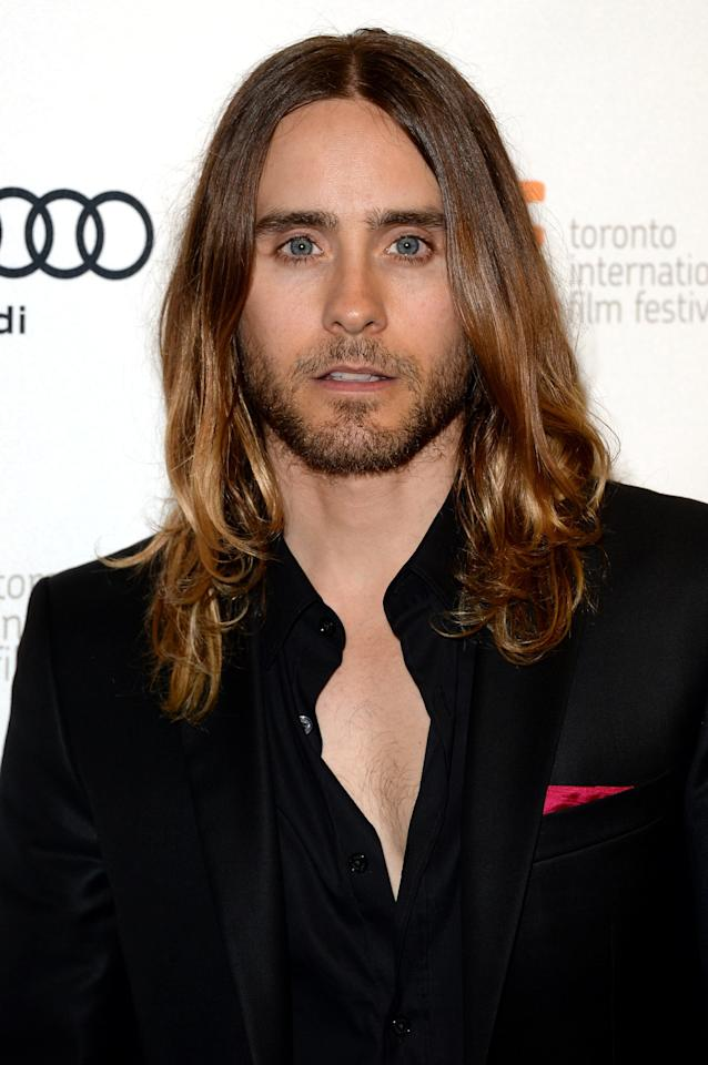 "<div class=""caption-credit""> Photo by: Getty</div><div class=""caption-title"">Jared Leto</div>He's older, he's wiser, he's pals with Kanye West (who seems to be every starlet's ticket to fame), and he currently has a lot more hair than Miley. Plus, they have that whole music thing in common. <br>"