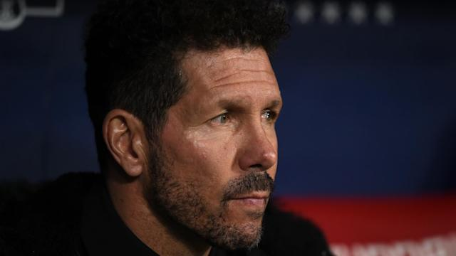 Diego Simeone reflected on Atletico Madrid's late 1-0 loss to Barcelona on Sunday.