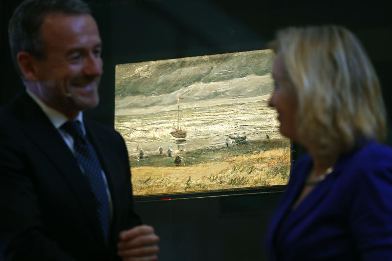 Stolen Van Gogh paintings return to Amsterdam after 14 years