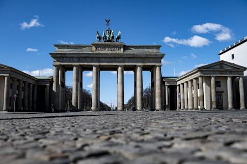 One of Germany's top tourism draws, the Brandenburg Gate, was almost deserted earlier this year. Photo: Fabian Sommer