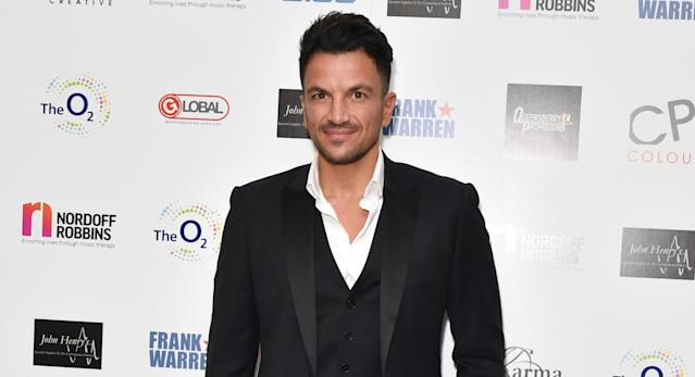 Peter Andre is concerned social distancing guidelines aren't clear. (PA)