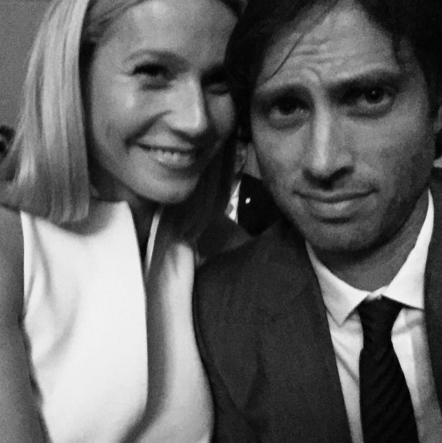 """<p>According to multiple reports, congratulations are in order for the <em>Iron Man </em>actress and the <em>American Horror Story </em>writer as they have apparently been <a href=""""https://www.yahoo.com/lifestyle/gwyneth-paltrow-brad-falchuk-engaged-174022028.html"""" data-ylk=""""slk:secretly engaged for a year!;outcm:mb_qualified_link;_E:mb_qualified_link"""" class=""""link rapid-noclick-resp"""">secretly engaged for a year!</a> Neither star has commented publicly on the news. (Photo: Brad Falchuk via Instagram) </p>"""