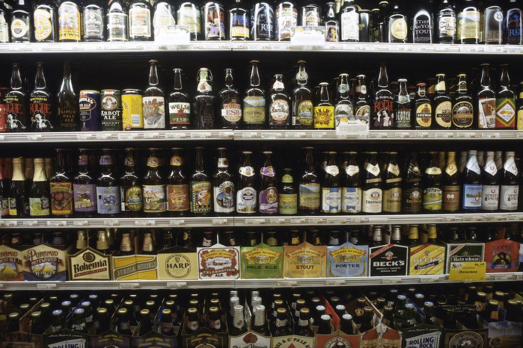"""<p>In addition to being one of just a handful of countries that prohibit alcohol consumption for anyone under 21, some places across the U.S. still abide by Prohibition-era laws restricting the sale of beer, wine, and liquor. In Indiana, for example, liquor stores still aren't <a rel=""""nofollow"""" href=""""http://www.chicagotribune.com/suburbs/post-tribune/news/ct-ptb-liquor-sunday-sales-st-0131-20160131-story.html"""">allowed to sell alcohol</a> on Sundays, and Kansas, Tennessee, and Mississippi are """"dry states by default,"""" meaning municipalities have to """"opt in"""" <a rel=""""nofollow"""" href=""""http://www.atlasobscura.com/articles/mapping-places-in-america-where-prohibition-never-ended"""">if they want to sell booze</a>.</p>"""