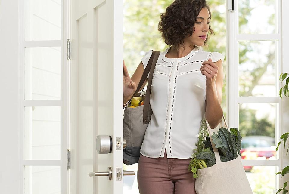 Breeze on into your front door with an armful of groceries. (Photo: Amazon)