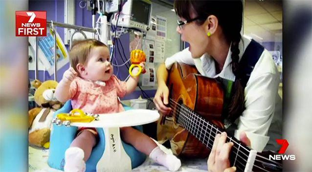 Musical therapy has helped. Source: 7 News