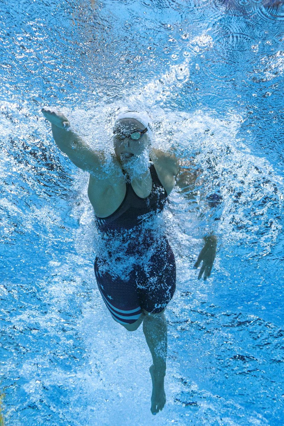 """<p>Biography: 27-year-old from Pennsylvania; she competed in the 2016 Games</p> <p>Event: Women's 400m individual medley (swimming)</p> <p>Quote: """"It is incredible, an honor. We got to watch Chase Kalisz and Jay Litherland right before we swam and we were ready to go and do it for the U.S.""""</p>"""