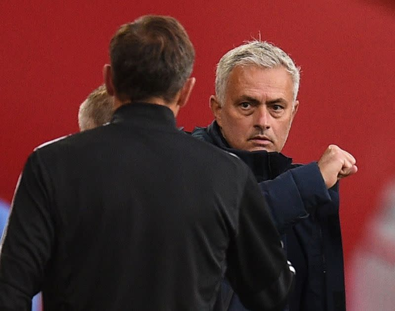 Not the end of the world if Spurs miss top six, says Mourinho