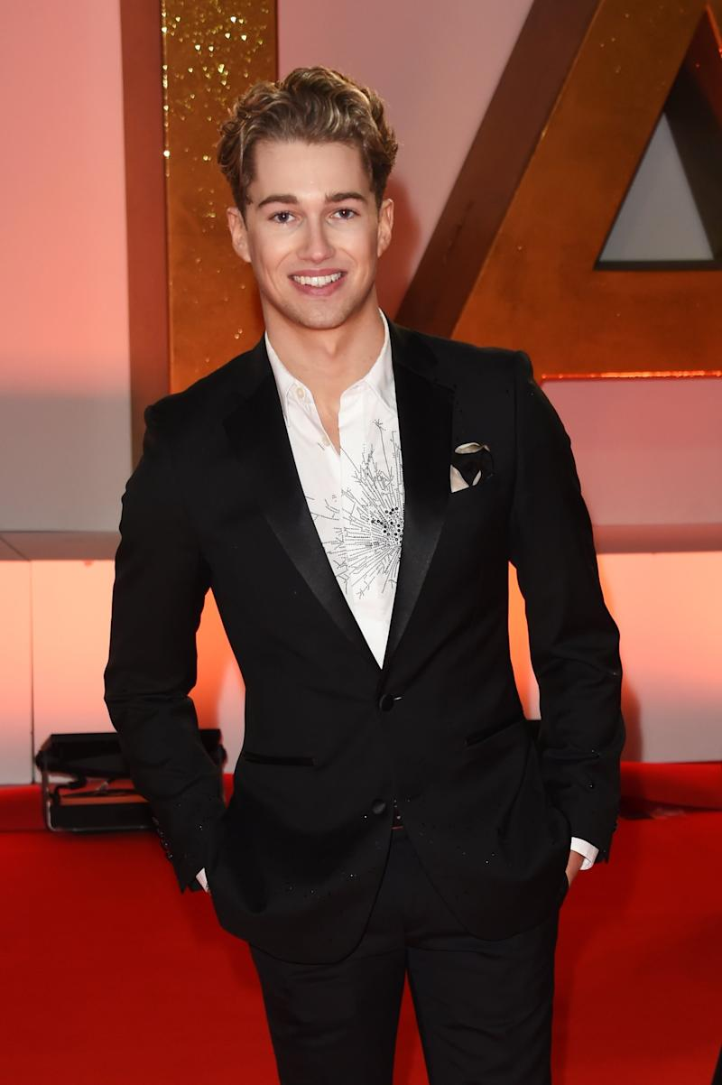 Strictly star: Dancer AJ Pritchard (Dave Benett)
