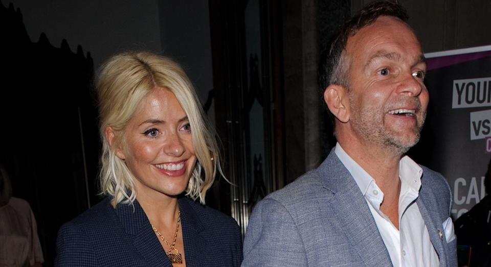 Holly Willoughby married husband Dan Baldwin in 2007. (Getty Images)