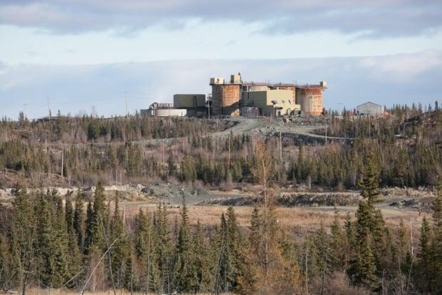A view of the Giant Mine site outside of Yellowknife in 2017.