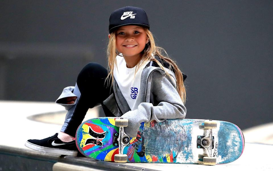 Sky Brown is an11-year-old skateboarding prodigy - PA