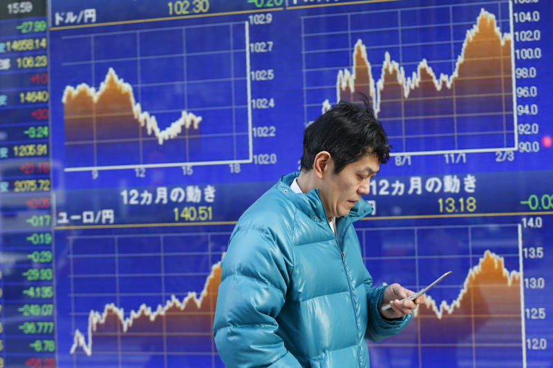 Global stocks sluggish as China, US in focus