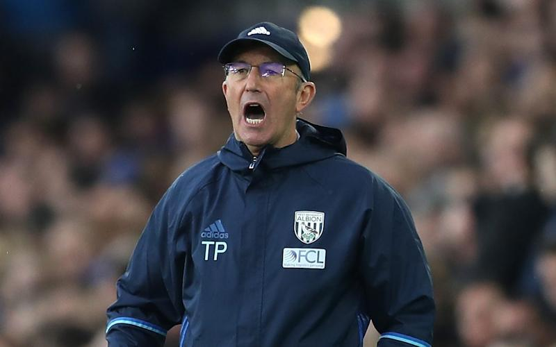 Tony Pulis is a man on a mission - 2017 Getty Images