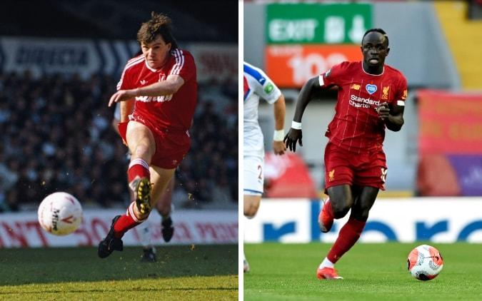Ray Houghton (left) and Sadio Mane (right) - GETTY IMAGES/ EPA