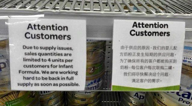 Woolies said it was a 'ticketing error' and would pass on feedback to store managers. Source: Facebook