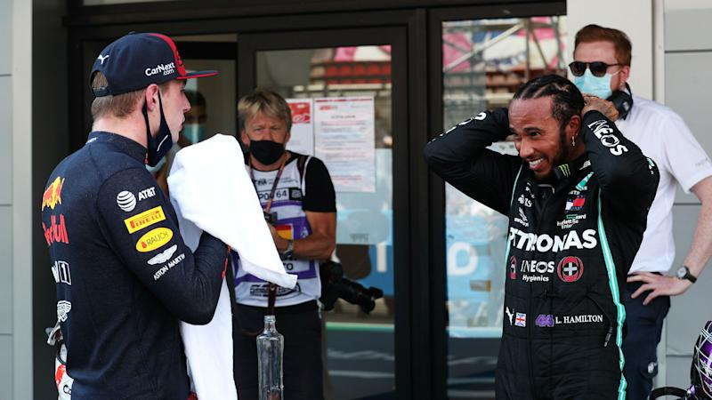 Hamilton thinks Red Bull have the edge but Verstappen doubts Spa pole