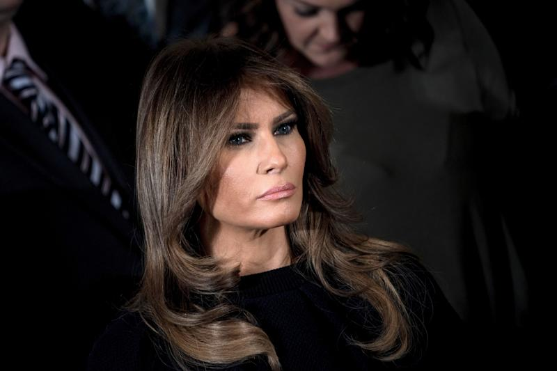 Parkland Shooting Survivor Calls Out Melania Trump For Allowing Her Stepson To Cyberbully Victims