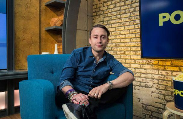 PHOTO: Kieran Culkin appears on 'Popcorn with Peter Travers' at ABC News studios, August 23, 2019, in New York City. (Jeff Swartz/ABC News)