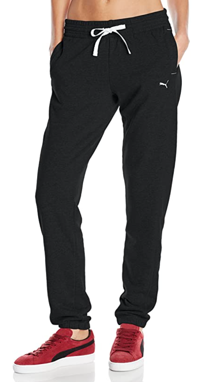 PUMA Women's Sweatpants in Black