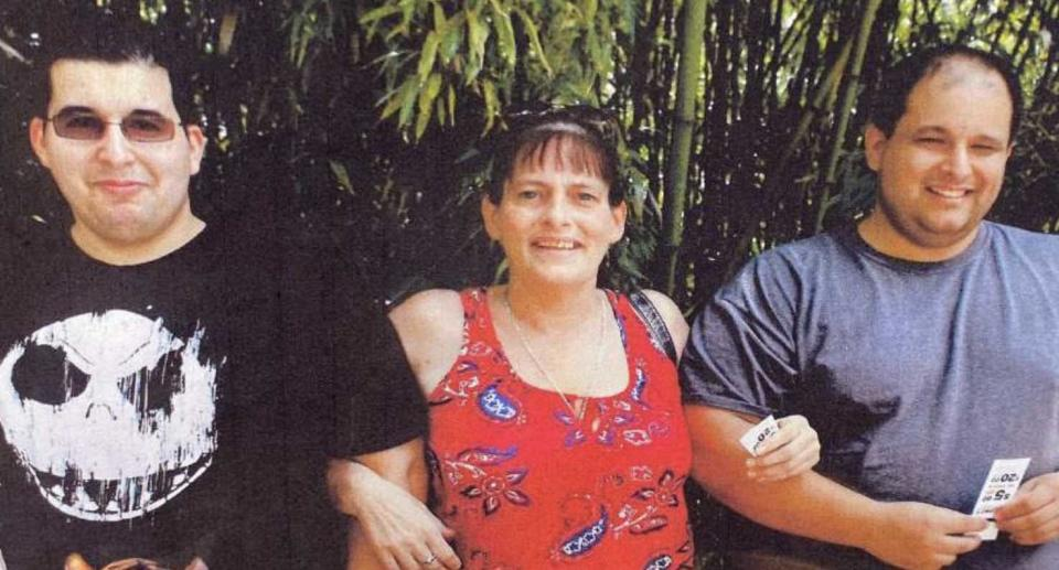 Aaron Jaggi, 35, and Free Jaggi, 41, are pictured with their half-sister.