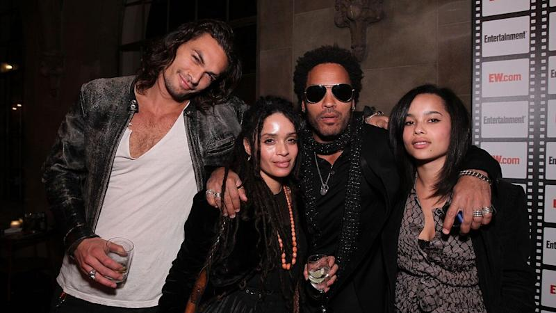 Lenny Kravitz Opens Up About 'Blended Family' With Lisa Bonet and 'Brother' Jason Momoa