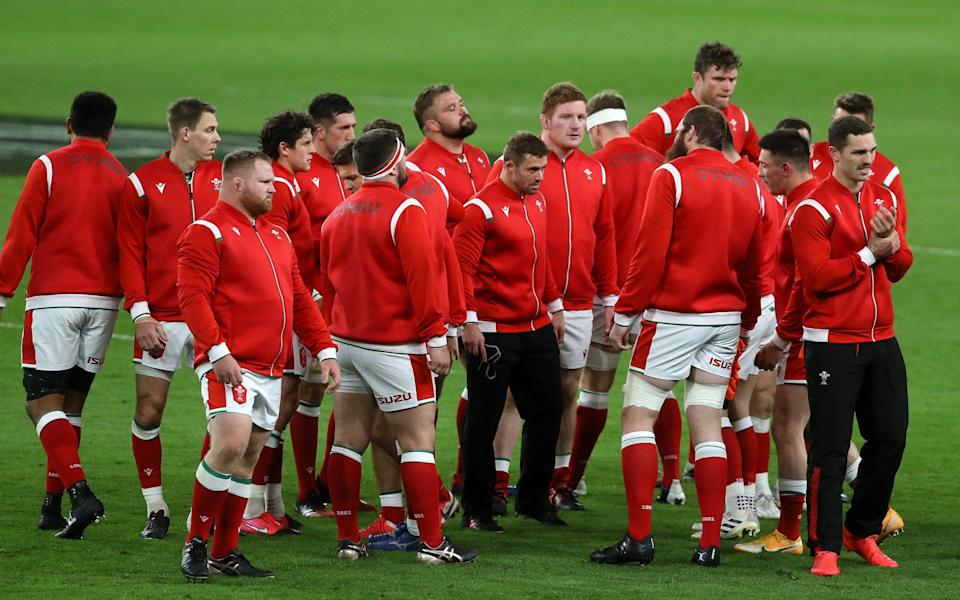 Wales rugby team -Wales v Georgia, Autumn Nations Cup 2020: What time is kick-off, what TV channel is it on and what is our prediction? - GETTY IMAGES