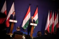 Hungarian PM Orban and Polish PM Morawiecki meet in Budapest