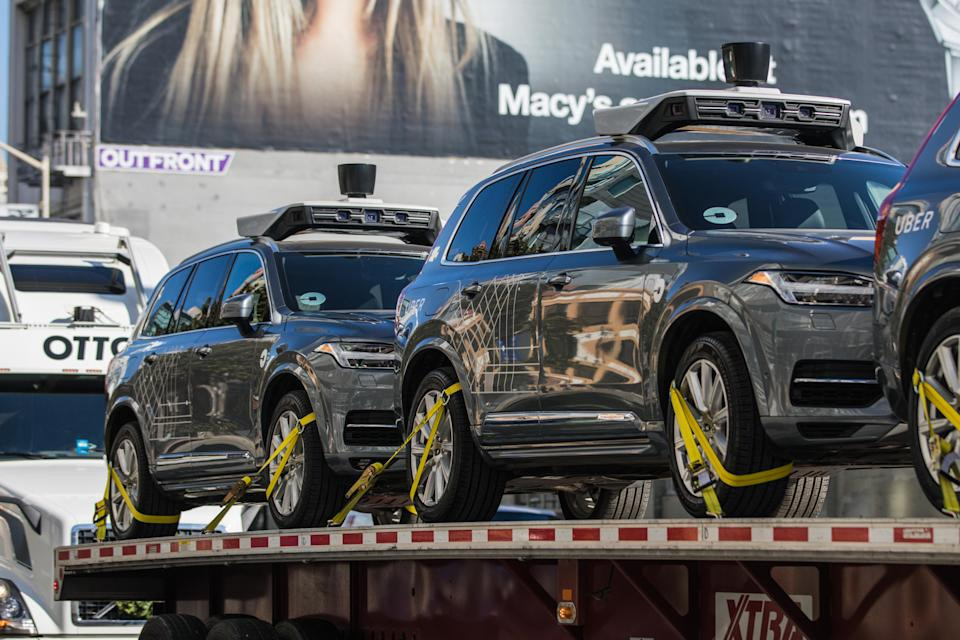 Uber Halts All Self-Driving Car Testing After Fatal Accident