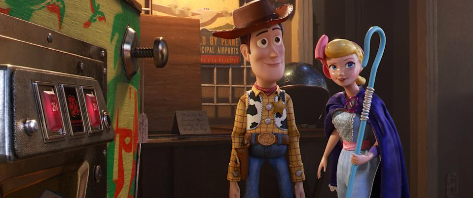 The beloved toys came back for a fourth installment almost nobody really wanted, but Pixar stuck the landing as they always do. Audiences were pleased, critics were pleased and the penny-counters at Disney were very happy indeed. (Credit: Pixar)