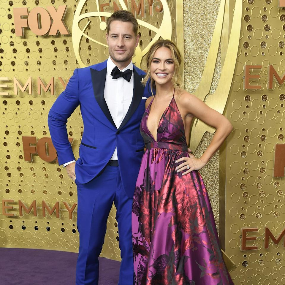 """Justin Hartley and Chrishell Stause's split is recounted in the third season of """"Selling Sunset."""""""