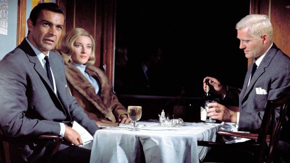 <p> Quite simply, From Russia With Love is the best Bond movie of all time. Not just because it was entertaining and groundbreaking back in the '60s, but because it has aged exceptionally well, carrying many of the most cherished Bond tropes and themes with it. What's more, it so perfectly captures the vibe and spirit of not only Fleming's novels, but of '60s spy cinema, and serves as a wonderful slice of such an exciting period in Hollywood espionage. Connery is perfect as Bond, his age ideal and his swagger intoxicating, and the suite of villains is impressive - Donald 'Red' Grant a real highlight. The plot and pace is top-notch too, featuring the classic 'honey-trap' scenario as SPECTRE send the unwitting, beautiful Tatiana Romanova to seduce Bond and help her steal the Lektor device. It's the first movie we see Desmond Llewelyn's Q, looking all young and full of ideas, and features an excellent supporting cast. </p> <p> But it's the romance and high adventure that truly makes From Russia With Love a brilliant movie. Istanbul is an exotic local, filled with energy and violence, and the conclusion on board the Orient Express manages to be brutal and dangerous while capturing the refined beauty of the world's most luxurious train service. While on board, we genuinely feel for the death of the hugely likeable Kerim Bey, we believe the relationship between Bond and Romanova is real, and we get that aching, quintessentially British cool when 007 says he should've known Red Grant was a villain, after he ordered red wine with fish. The only duff note is the reappearance of Rosa Klebb at the end, who attacks Bond with her poison-bladed shoe (yes, it's daft), but overall this is the perfect spy movie, and it set the template for all the great Bonds to follow. </p> <p> <strong>Bond:</strong> Sean Connery<br> <strong>Theme tune:</strong> From Russia With Love by Matt Monro </p>