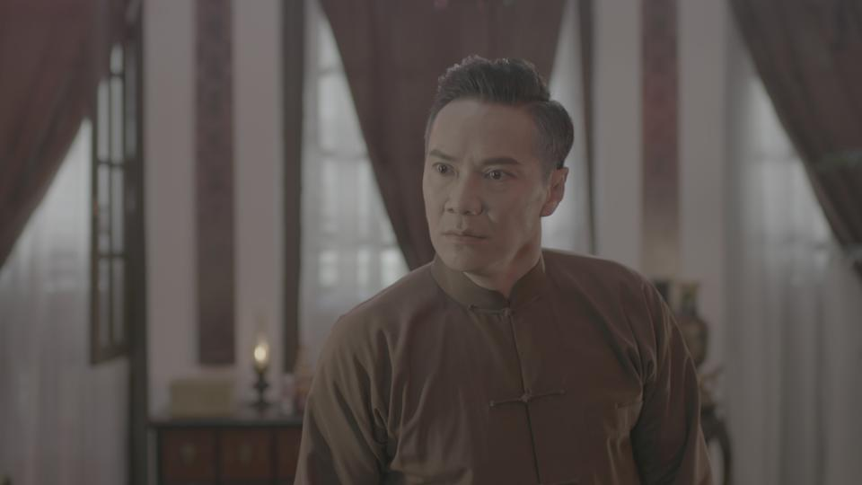"Brandon Wong in Mediacorp's M18 drama series ""The Last Madame"". (Photo: Mediacorp)"