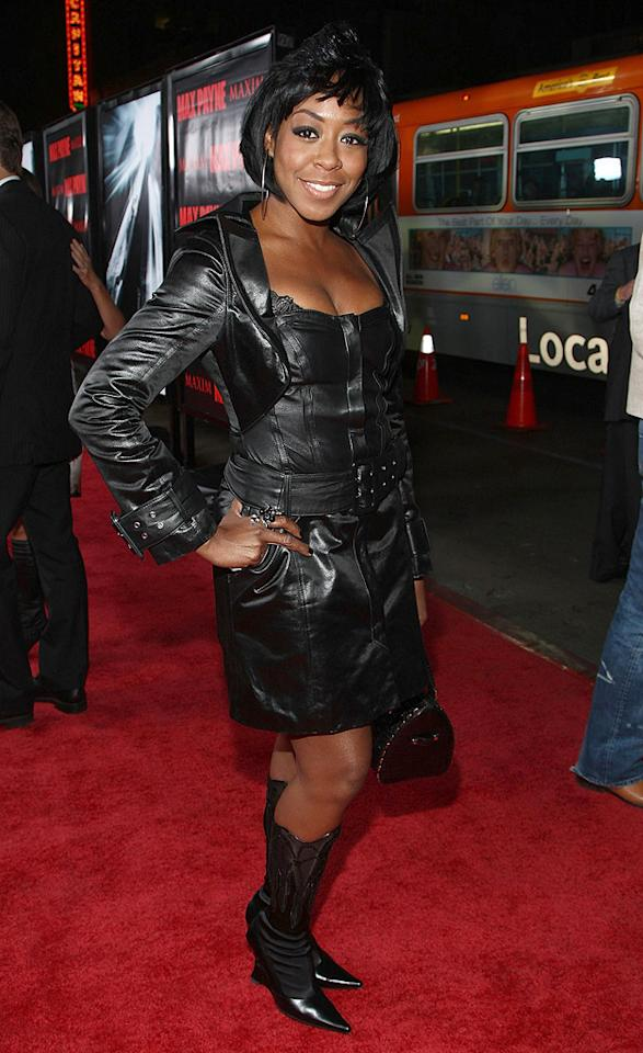"<a href=""http://movies.yahoo.com/movie/contributor/1802752951"">Tichina Arnold</a> at the Los Angeles premiere of <a href=""http://movies.yahoo.com/movie/1810007086/info"">Max Payne</a> - 10/13/2008"