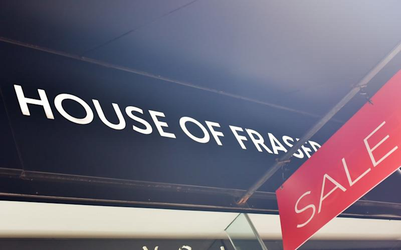 House of Fraser was bought by Mike Ashley after it collapsed into administration - Matthew Chattle / Barcroft Images