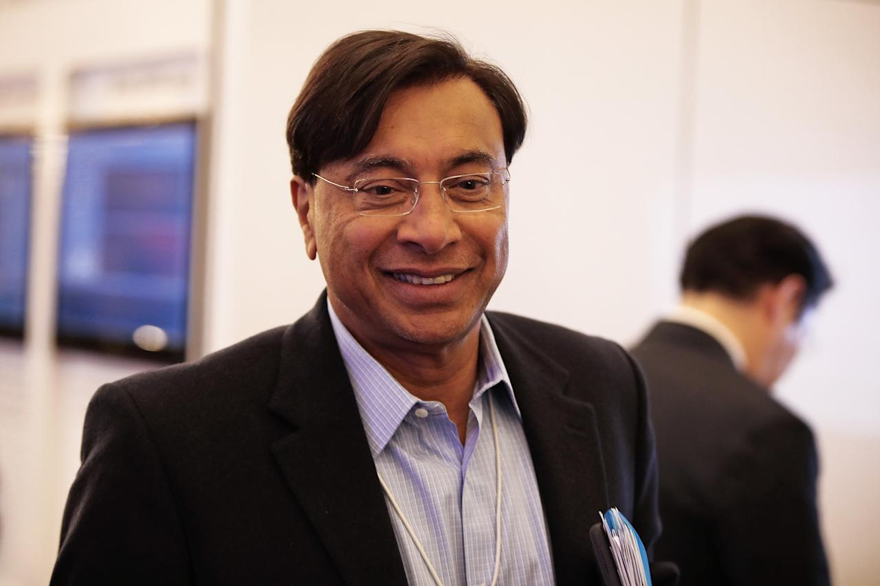 <p>Rank 48. Lakshmi Mittal, Total net worth $19.6 billion, year to date added $5.23 billion to his net worth, Industry: Commodities </p>