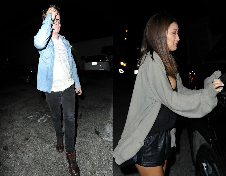 <p>Macaulay Culkin, 36, was also spotted having dinner with actress Brenda Song, 29, at Craig's in Los Angeles. Culkin looks better than he has in years with his freshly-cut 'do. (Photos: Splash News, July 23 2017) </p>