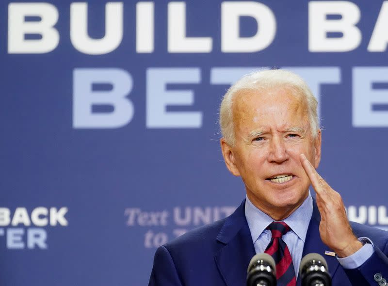 Pulled in many directions, Biden may keep Trump's China tariffs in place