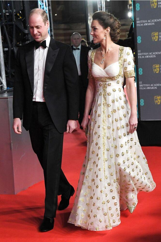 Prince William and Kate Middleton | Anthony Harvey/BAFTA/Shutterstock