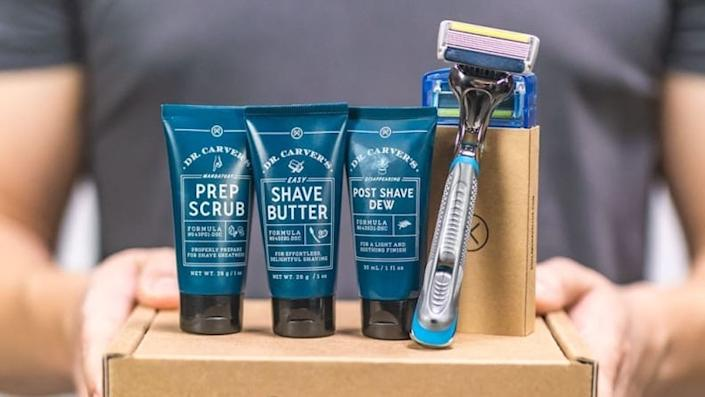 Best gifts for dads: Dollar Shave Club