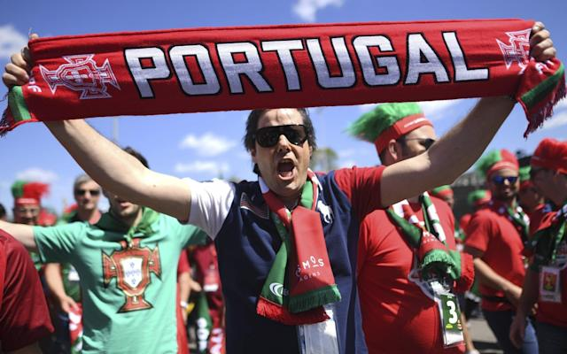 """World Cup 2018: Portugal vs Morocco, 1pm kick off, TV: BBC1 Ronaldo continues to take limelight at 33 while rivals go missing Ranking every World Cup 2018 team, after one game each Uruguay vs Saudi Arabia (4pm kick-off) Iran vs Spain (7pm kick-off) Betting guide: predictions and tips for Portugal v Morocco 12:48PM Bang to the head It had been assumed that Amrabat would not feature for Morocco today after he was forced off during the match with Iran when he bashed his head against the floor and suffered a concussion. However, he has been selected and is wearing a Petr Cech-style skull cap in the warm-up. Unsurprisingly, his inclusion in the starting XI has prompted some raised eyebrows. Nordin Amrabat starts. ����#MOR team doctor - Abderrazak Hifti: """"I asked him five questions and he could only answer one, I saw clear symptoms of cerebral concussion."""" FIFA concussion protocol. Return to competitive play - 6 days ���� pic.twitter.com/m4xi5Coore— Ben Dinnery (@BenDinnery) June 20, 2018 12:45PM Sun shining on the Luzhniki Credit: reuters Credit: reuters 12:36PM Mismatch? JJ Bull has watched every minute of every match so far at this World Cup, and is thus perfectly placed to tell you who is good and who is rubbish. He has produced a handy guide to all 32 teams, ranking them from worst to best after their opening encounters in Russia. READ IT BY CLICKING HERE. The teams involved in this match are ranked second... and 25th. 12:24PM I see some changes Just the one change from the Portugal side that drew 3-3 with Spain: Joao Mario comes in for Bruno Fernandes on the left wing. Morocco have tinkered a bit more after their shock defeat against Iran, making three changes to the side that started that game. Nabil Dirar and Manuel Da Costa come in, which sees Watford's Nordin Amrabat shifted further forward into a midfield role. Khalid Boutaib replaces Ayoub El Kaabi up top. 12:10PM Here are your teams The teams are in for #PORMAR! #WorldCuppic.twitter.com/73Cx1XolJV— FIFA World"""