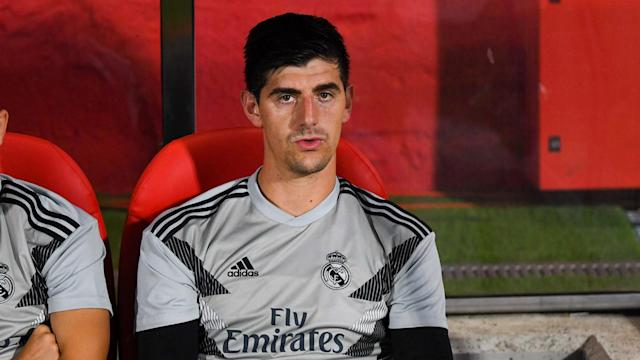 Real Madrid goalkeeper Thibaut Courtois fired back at Atletico Madrid head coach Diego Simeone following Saturday's win over Rayo Vallecano.