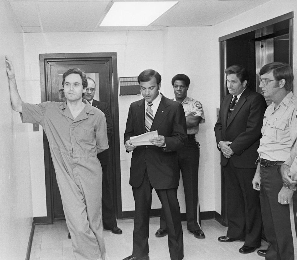 <p>From 1974 to 1978, Ted Bundy committed a series of salacious and terrifying crimes that struck fear into women across America. His period of unbridled crime came to a close as his trial began in Florida in 1979.</p>
