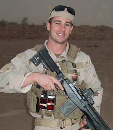 This undated image provided by the U.S. Navy shows Special Warfare Operator Petty Officer 1st Class (SEAL) Darrik C. Benson, 28, of Angwin, Calif. Benson was killed along with other SEALS in the Afghan Helicopter crash on Saturday, Aug. 11, 2011. (AP Photo/U.S. Navy)
