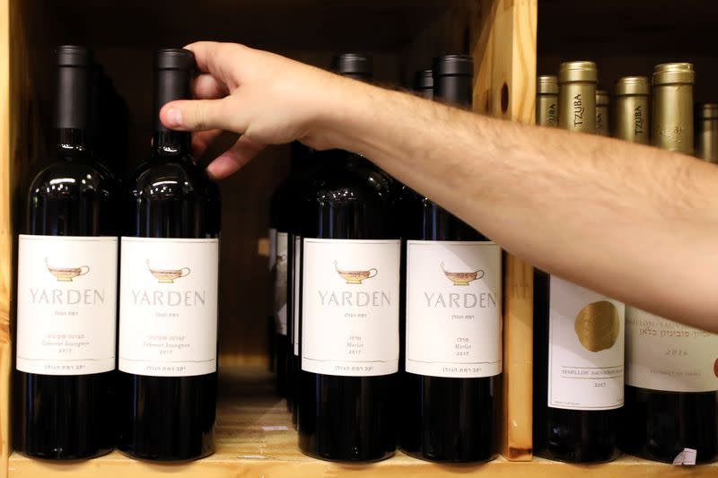 Wine from Israeli-held Golan Heights to hit Dubai shelves