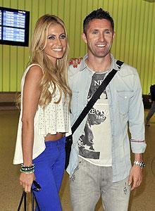 Could new L.A. addition Robbie Keane and wife Claudine rival Victoria and David Beckham for Galaxy fans' affections?