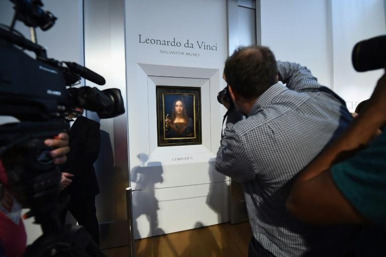 The painting of Christ has not been seen in public since it was bought for $450 million by the Saudi royal family at a 2017 Christie's auction