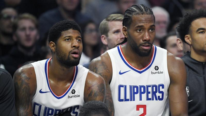 George and Leonard finally pair up as Clippers take down Celtics