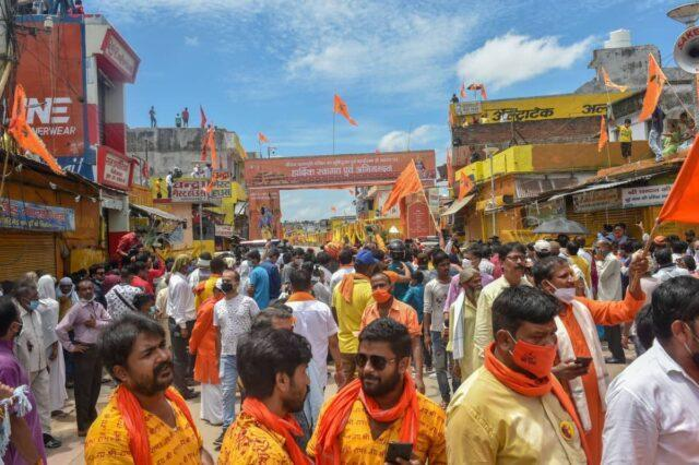 The inauguration of Ram Temple at Ayodhya